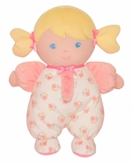 "Baby Starters 9"" Plush Doll with Rattle - Olivia Blonde"
