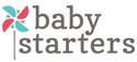 """Baby Starters 9"""" Plush Doll with Rattle - Olivia Blonde"""