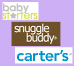 Baby Starters, Carters and Snuggle Buddy