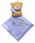 Baby Starters Snuggle Buddy Thank Heaven For Little Boys Blanket