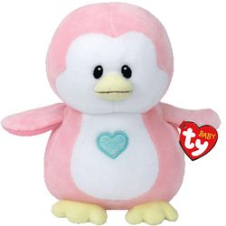 Baby TY Penny Pink Penguin 7""