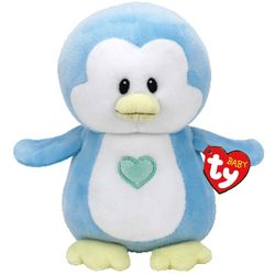 Baby TY Twinkles Blue Penguin 7""