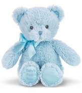 """Bearington Baby Collection - Baby's First Bear - Blue 12"""""""