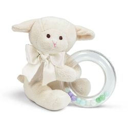 Bearington Baby Lamby Shaker Rattle