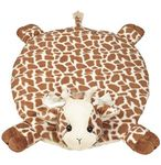 Bearington Baby Patches Giraffe Blanket Play Mat