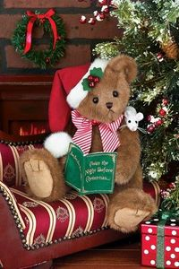 Bearington Bears Chris Mousetales Christmas Bear 14""