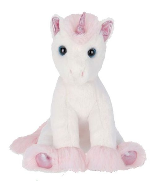 Bearington Collection Dreamer Unicorn Plush 12""