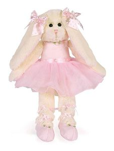 Bearington Collection Lil' Bunny Tutu Ballerina 15""