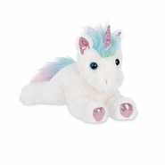 Bearington Collection Lil' Rainbow Shimmers Unicorn Plush 10""