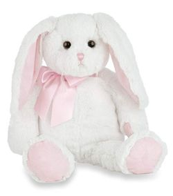 "Bearington Collection Loppy Longears Bunny 16"" - Pink"