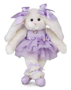Bearington Collection - Twirlina Ballerina Bunny 12""