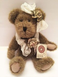 Boyds Bears Dorothea Laceley Plush Bear 10""