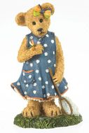 Boyds Bears Felicia Goodfriend with Lil' Flutter Bearstone Figurine