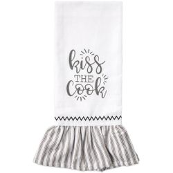 Brownlow Farmhouse Kitchen Tea Towels - Kiss the Cook
