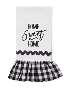 Brownlow Farmhouse Kitchen Tea Towels - Home Sweet Home