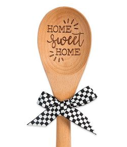 Brownlow Sentiment Wooden Spoons - Home Sweet Home