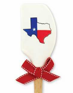 Brownlow Silicone Kitchen Spatulas - Texas Flag