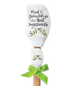 Brownlow Vintage Style Buddies Spatulas - Food & Friendship