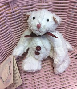 Chenille Cat from Grandma's Heart 5""