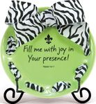 Inspirational Ribbon Plate - Your Presence
