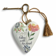 DEMDACO Art Hearts - A Mom Listens with her Heart