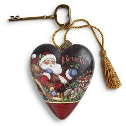 DEMDACO Art Hearts - Believe Santa Claus