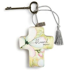 DEMDACO Artful Crosses - Blessed Beyond