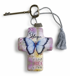 DEMDACO Artful Crosses - Hope Butterfly