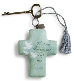 DEMDACO Artful Crosses - Lord Bless You and Keep You