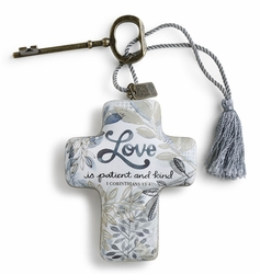 DEMDACO Artful Crosses - Love is Patient and Kind