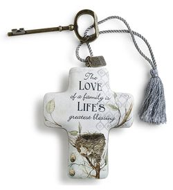 DEMDACO Artful Crosses - Love of a Family