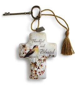 DEMDACO Artful Crosses - Thankful and Blessed