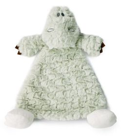 DEMDACO Baby Arnie Alligator Rattle Cozy Blankie