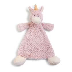 DEMDACO Baby Wendy Unicorn Rattle Cozy Blankie