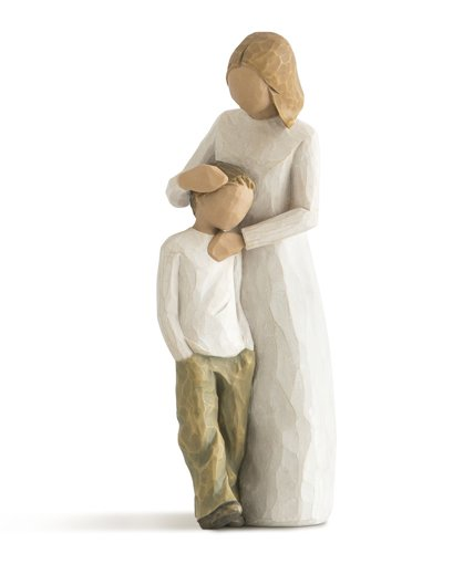 willow tree mother and son figurine from demdaco hearts. Black Bedroom Furniture Sets. Home Design Ideas
