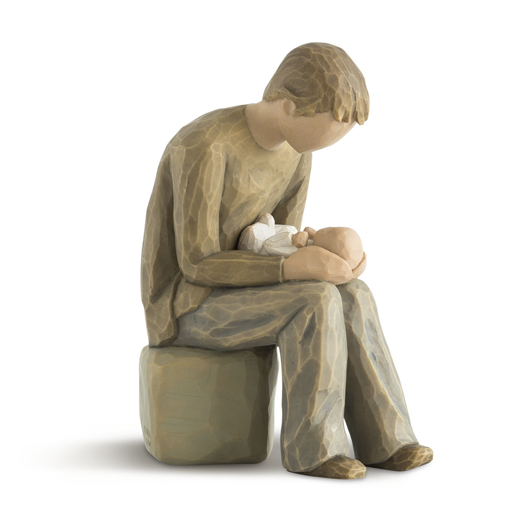 Willow Tree New Dad Figurine by Susan Lordi