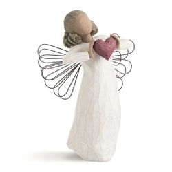 Willow Tree With Love Angel with Heart by Susan Lordi