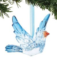 Enesco Dept 56 XMBAR Acrylic Bluebird of Happiness Ornament