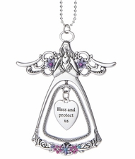 Ganz 3D Angel Car Charms - Bless and protect us