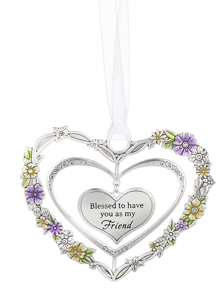 Ganz 3d Ornaments Blessed To Have You As My Friend Hearts Desire