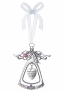 Ganz 3D Ornaments - Faith makes all things possible