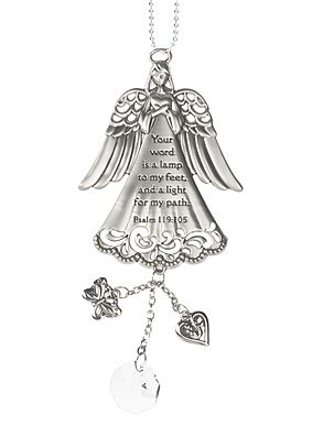 Ganz Car Charms - Your word is a lamp unto my feet