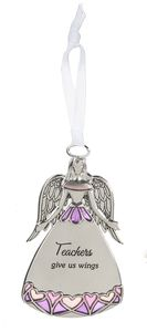 Ganz Angel Ornament - Teachers Give Us Wings