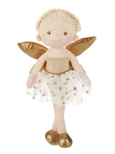 Ganz Asteria Fairy Dolls - Gold 15""