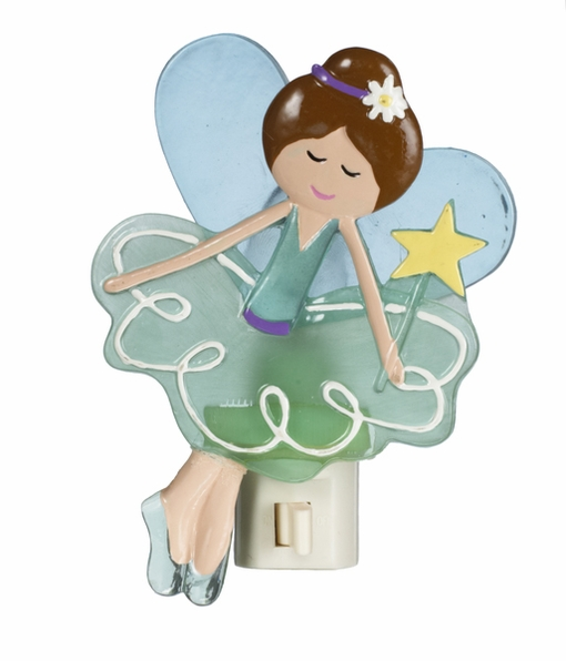 Ganz Baby Bella Fairy Night Light - Green