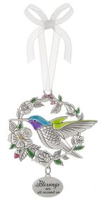 Ganz Bird Ornaments - Blessings are all around us
