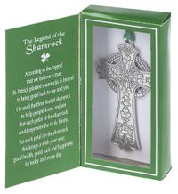 Ganz The Legend of the Shamrock Boxed Ornament
