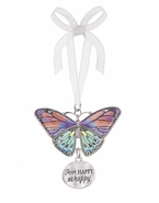 Ganz Blissful Journey Butterfly Ornament - Think HAPPY.  BE Happy