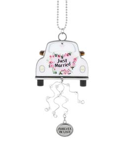 Ganz Bridal Car Charms Forever in Love - Just Married