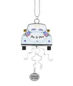 Ganz Bridal Car Charms Forever in Love - Mr and Mrs